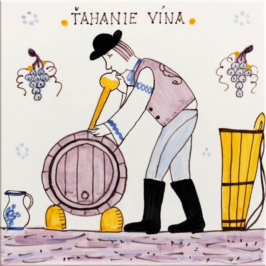 Tahanie-vina