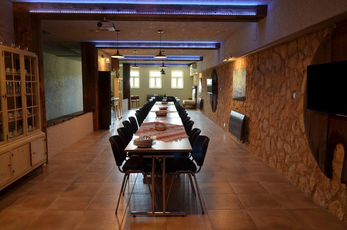 Vínna sála v penzióne Tokaj 2 (30 ľudí)
