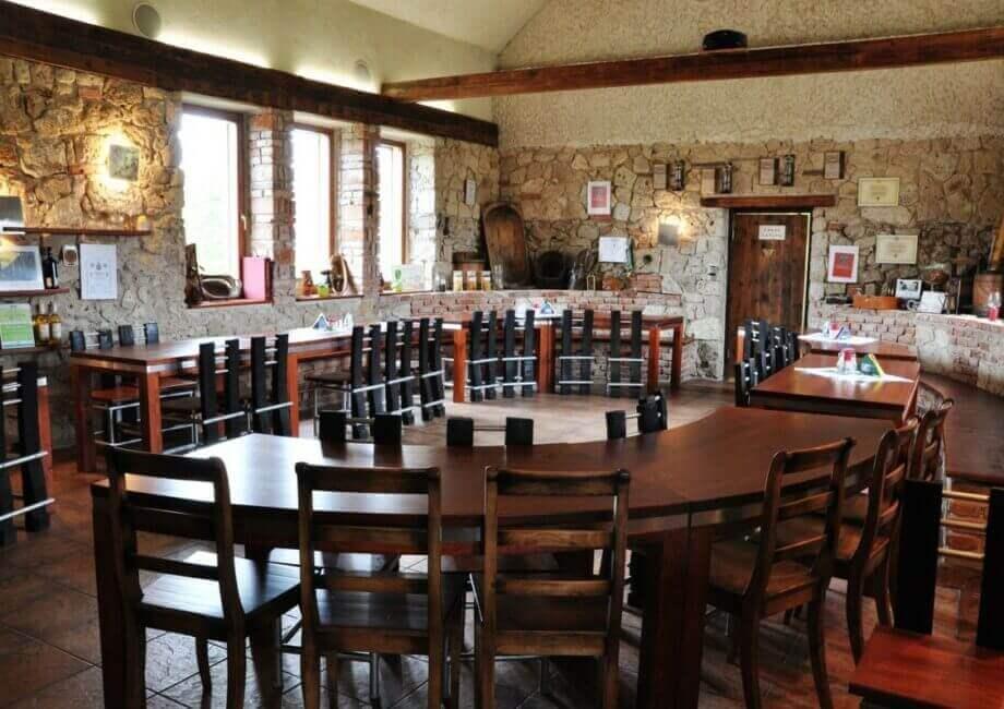 Vínna sála v Tokajskom dome (50 ľudí)